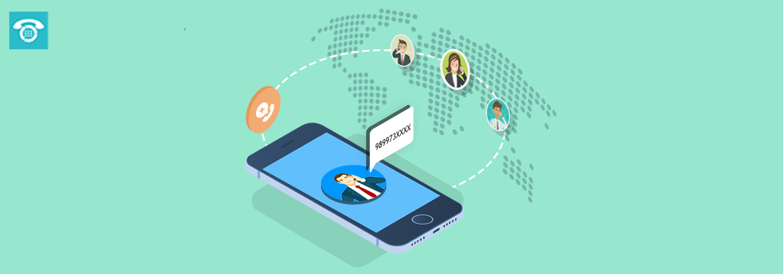 International virtual number for global business presence