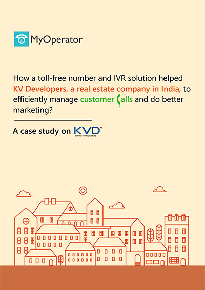 KV Developers success story with MyOperator cloud telephony solutions