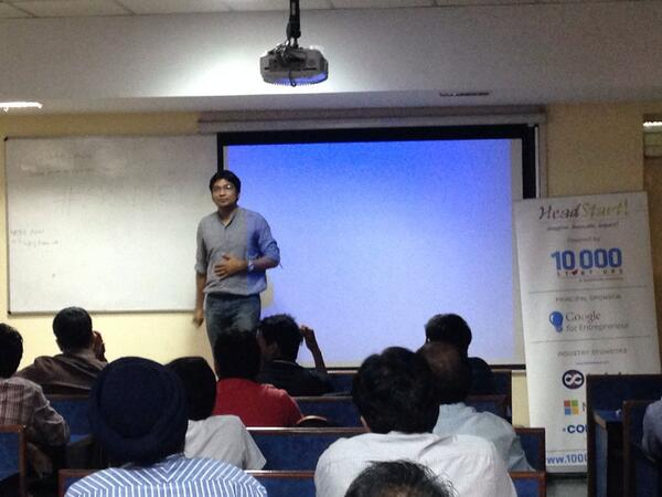 Ankit Speaking on Building a good team