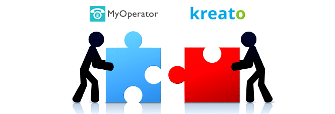 MyOperator integration with Kreato CRM will help you track your business calls